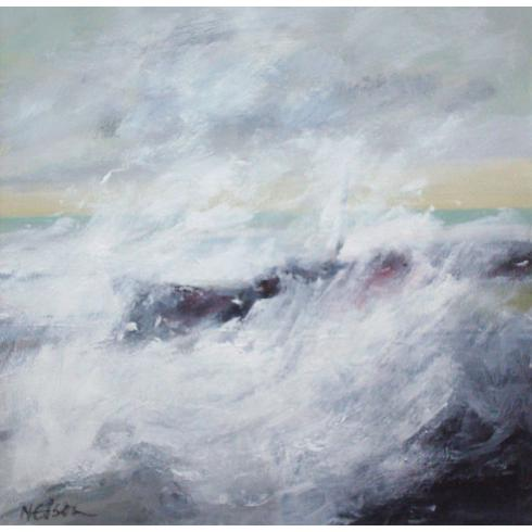 Stormy Sea by John Nelson
