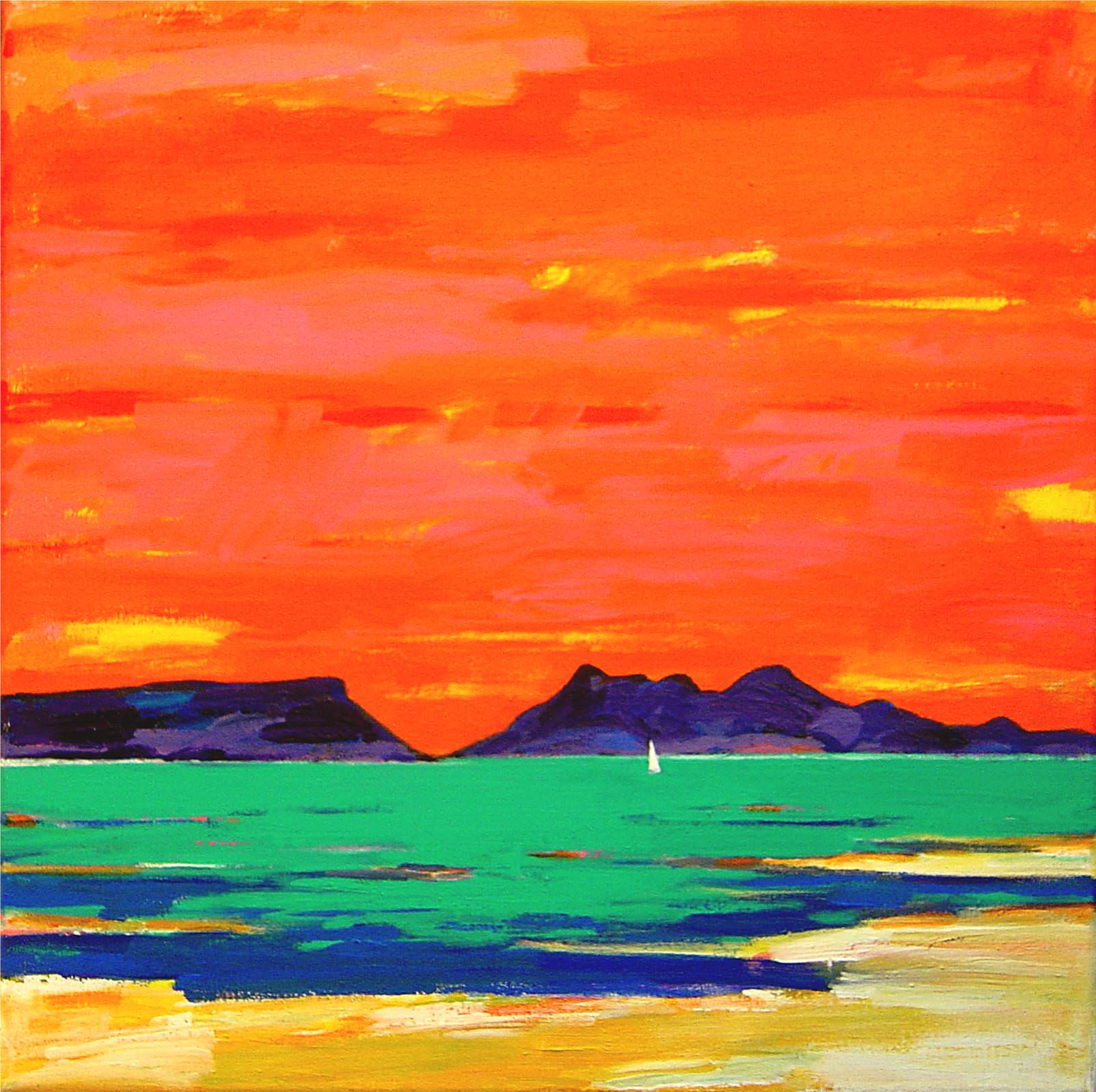 Print of Arisaig Sunset by Prints