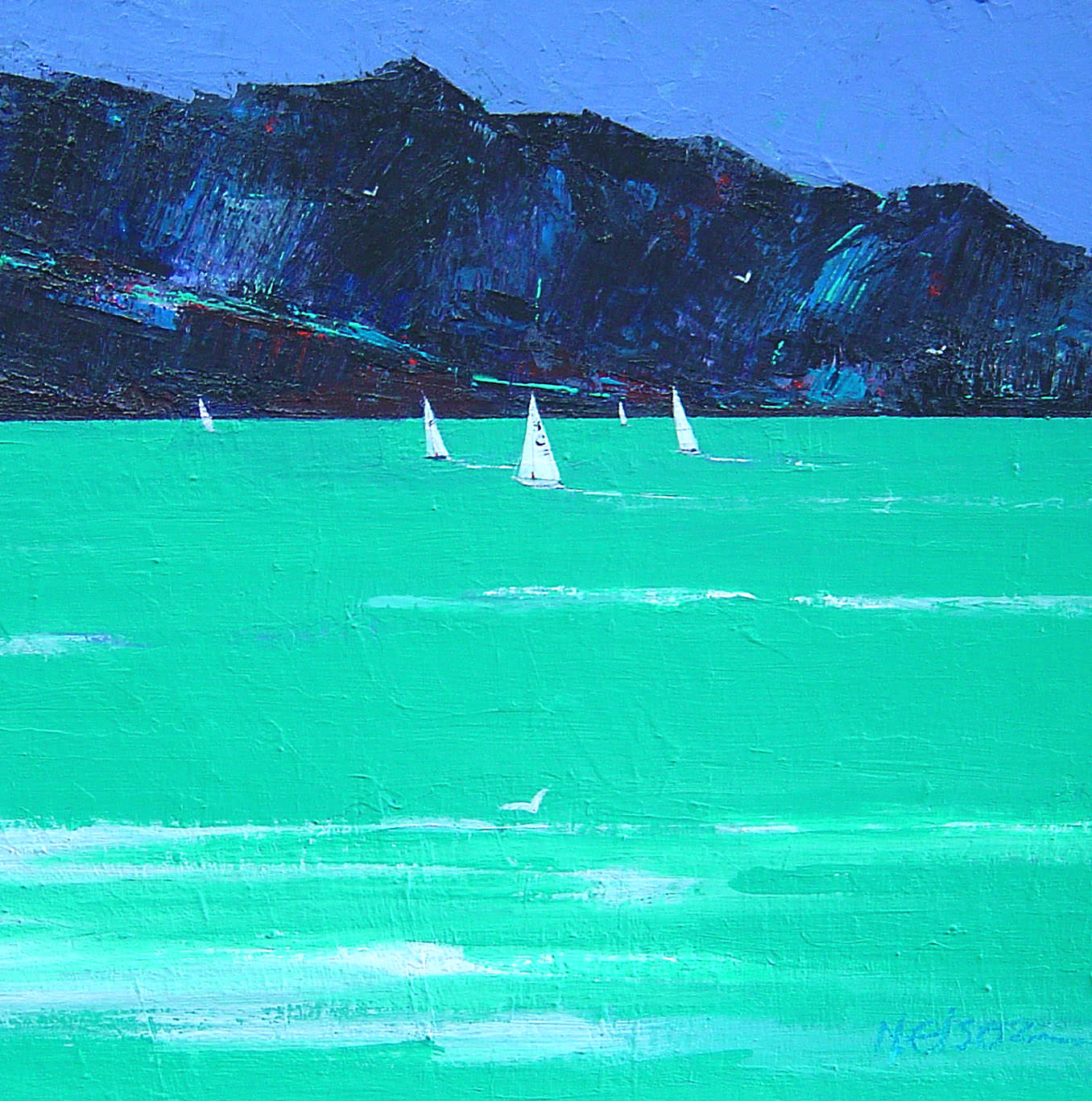 Print of Sailing Off Elgol by Prints